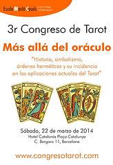 Descarga el díptico del Tercer Congreso de Tarot