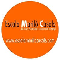 Logo de la Escola Mariló Casals de Tarot, astrologia , esoterismo y crecimiento personal