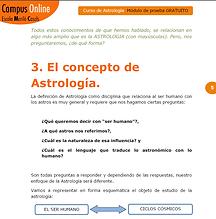 El concepto de Astrología