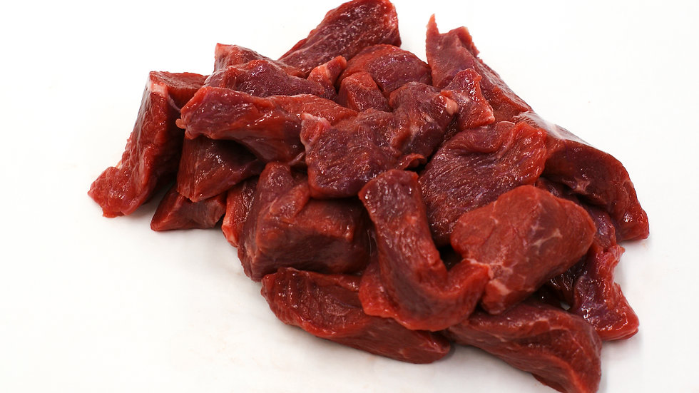 500g DICED BEEF