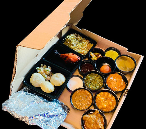 Sample Virtual Buffet Box
