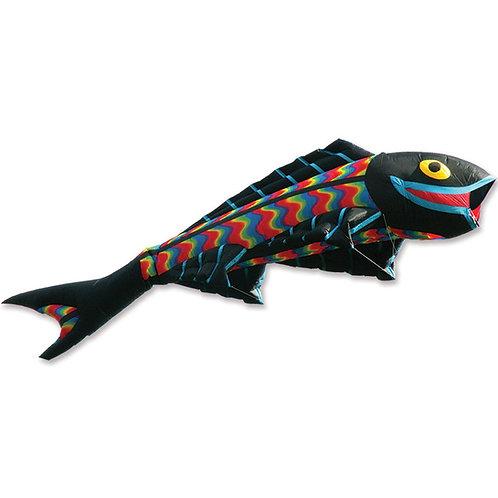 Giant Flying Fish Kite - Wavy Gradient