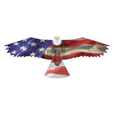 Patriotic Eagle Supersized Nylon Kite
