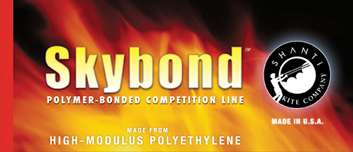 Skybond New Polymer-Bonded Competition lines Dual line 100#x100': By Shanti