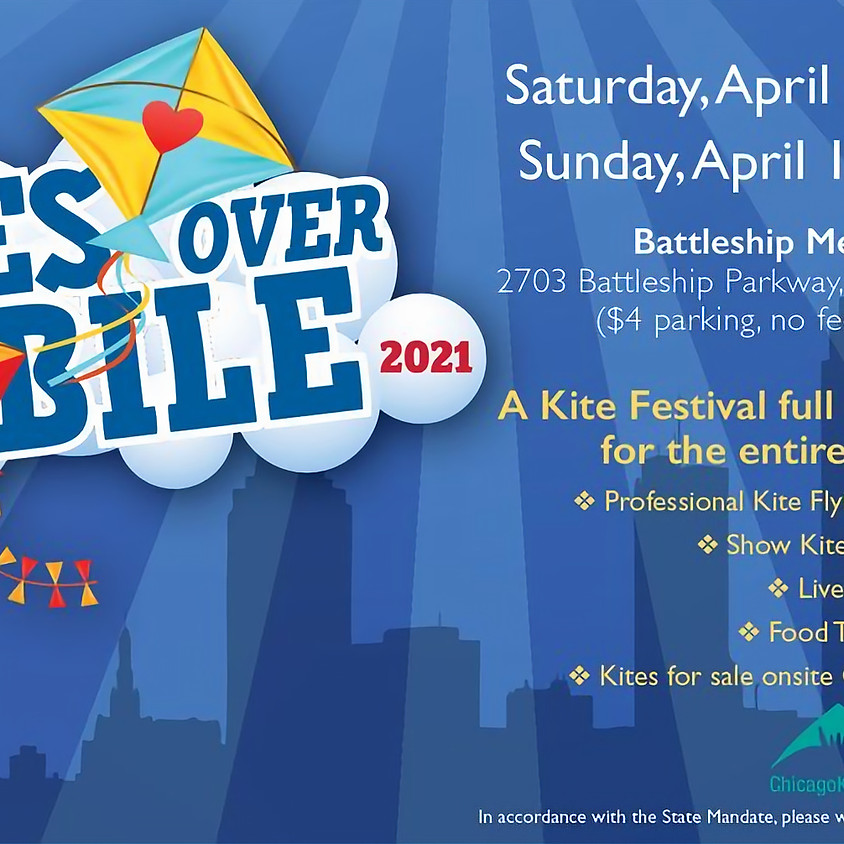 Kites Over Mobile April 10th and 11th 2021