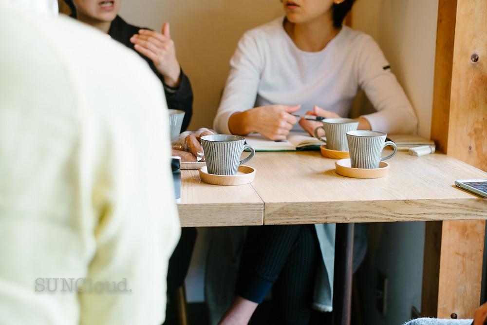 地震後ユフトモーニのメンバーで色々と話し合いを重ねました