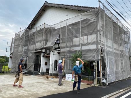建物外壁補修工事のお知らせ