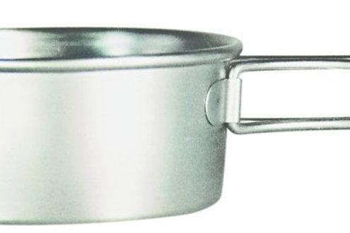 チタンシェラカップ深型250フォールドハンドル(メモリ付)
