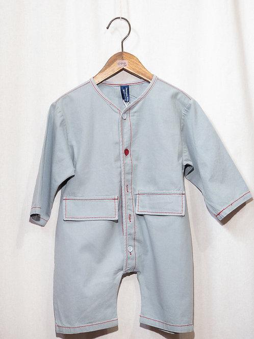 ツナギ風 ロンパース Baby サイズ 70,80,90,100