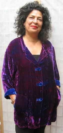 velvet shirt (Small)