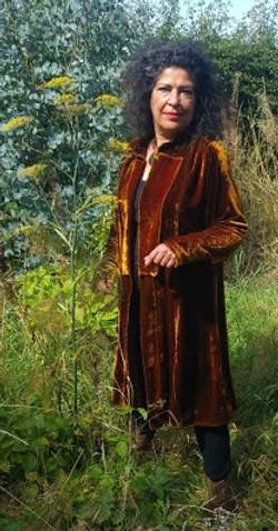 velvet coat with fennel 900