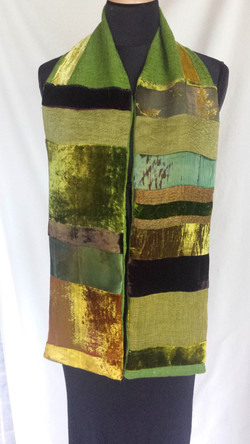 patchwork scarf (Medium)
