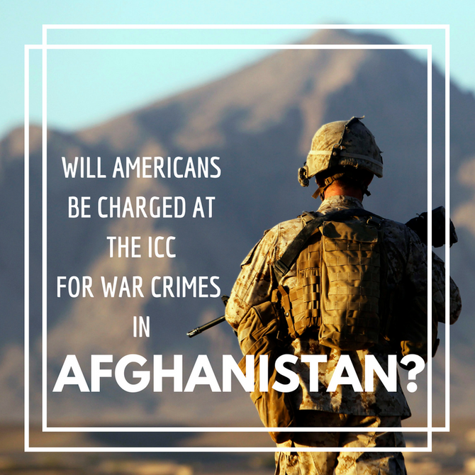 Will Americans be charged at the International Criminal Court for war crimes in Afghanistan?