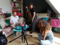 Photos tournage de fin d'année - cours adulte