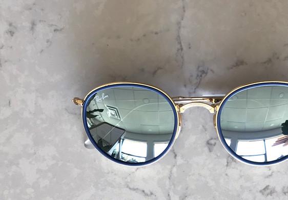 Ray-Ban reflective sunglasses