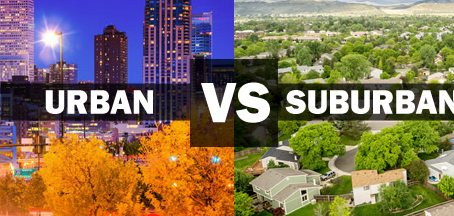 NEW: Urban & Suburban Rent Data
