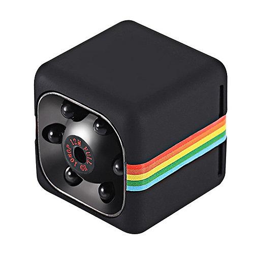 1080p HD Мини Камера – Ночное Видение, 120 градусов угол обзора, Micro SD .....