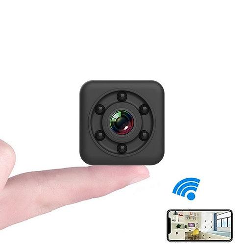 Беспроводная IP Мини Камера WiFi – Ночное Видение, Встроенный Микрофон, .....