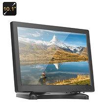 10.1 дюймов IPS Монитор - 1280x800, HDMI, VGA, AV, Встроенные Динамики, 16:9