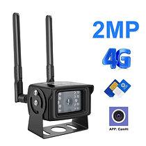 1080P Full HD Беспроводная 4G Камера – 1080P, 2MP, СИМ-Карта Слот 3G/4G .....