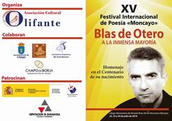 23 JUL 2016: Homenaje Blas de Otero