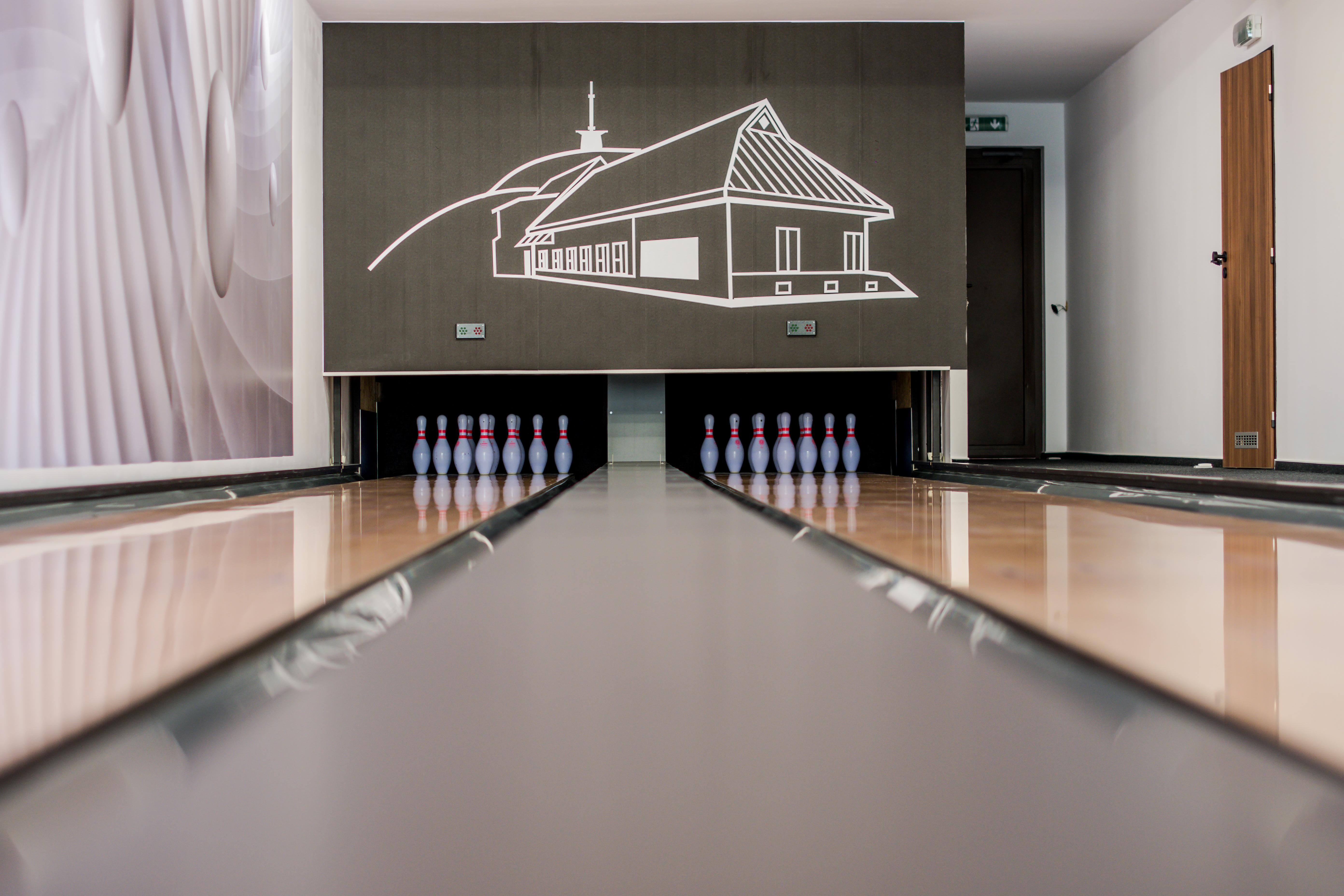 bowling pozadí