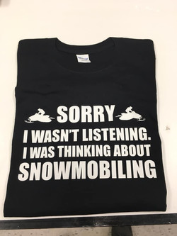 skidoo shirt