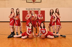 Girls Var BBall Team Yearbook - Jena Ste