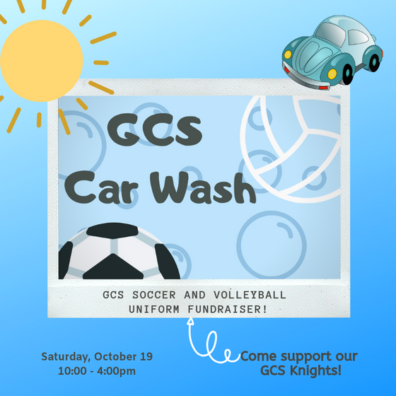 GCS Athletics Car Wash Fundraiser