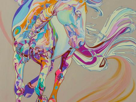 New Painting 'Waltz'