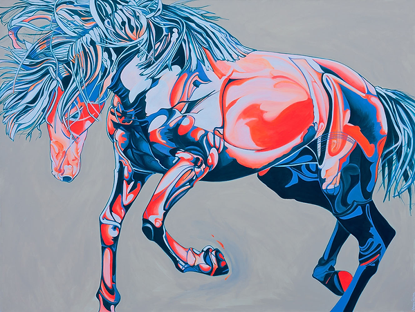 Yaheya Pasha Horse Artist Horse portrait Enamorado