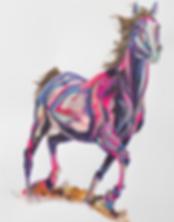 Equestrian Artist Yaheya Pasha