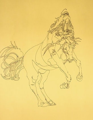 'Untitled' horse bowing