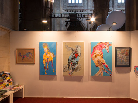 Showing at the Landmark Arts Centre, February 2016