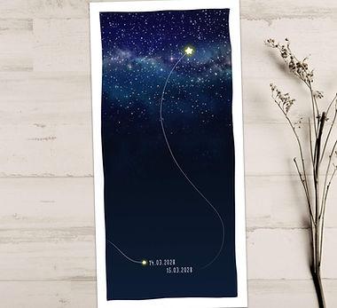 Sternenkarte trauerkarte Sternenkind Stern am Himmel Nico.jpg