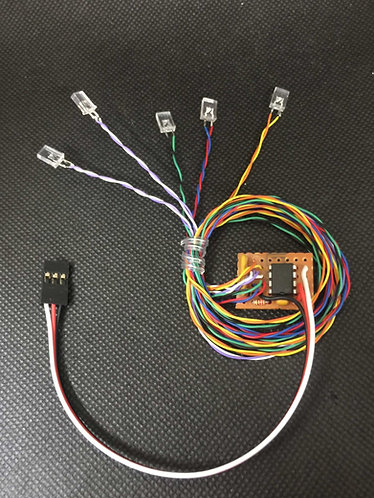 FeatherLite Navigation Lights for Radio Controlled Models