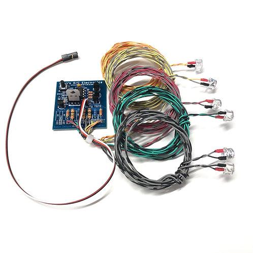 Navigation Lights for radio Controlled Models