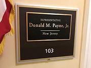 Representative Donald M. Payne Jr. New J