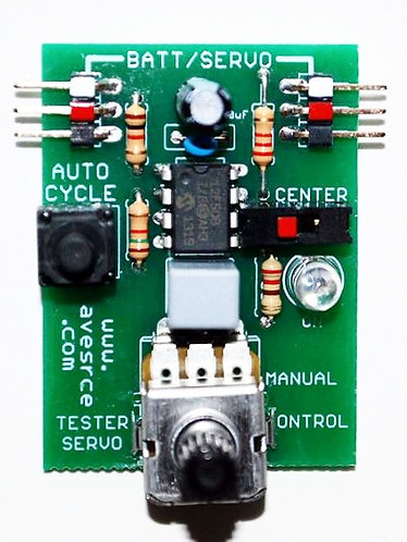 Servo Tester and Brushless Motor Tester