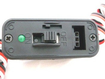 HD Switch w/Charge Jack & LED for Radio Controlled Airplane