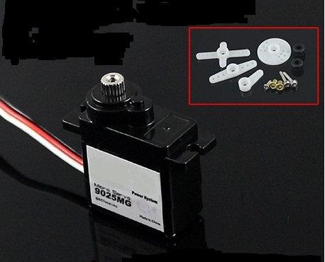 9025MG 9G Metal Miniature Gear Servo
