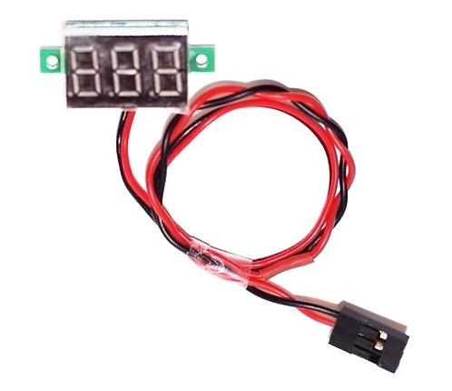 2.5-30 volt Volt Meter for Radio Controlled Model Airplane