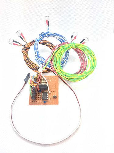 Radio Controlled Aircraft Navigation Lights