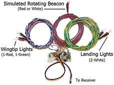 Radio Control Navigation Lights