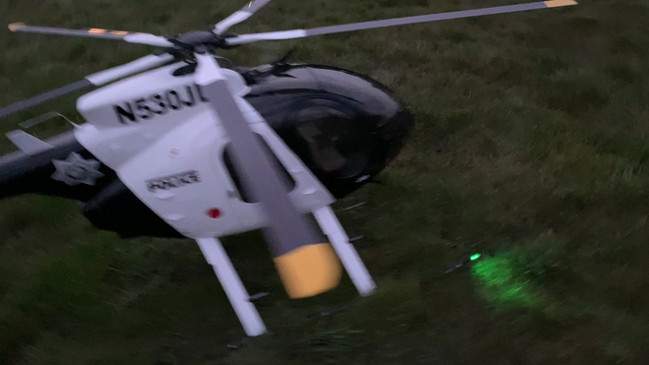 John's Roban Police Helicopter