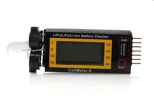 2S-3S Li-Po Cell Meter & Alarm