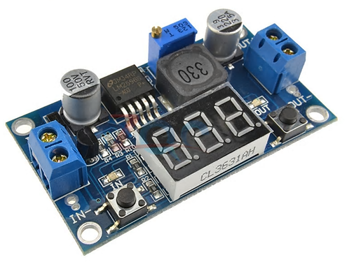 Adjustable Regulator with Display-3A