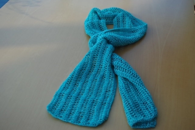 Sigrid Handmaid 30% Wool Scarf Teal