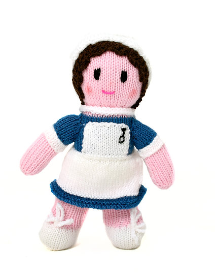 Busy Nurse - Phil's Handknit Toys
