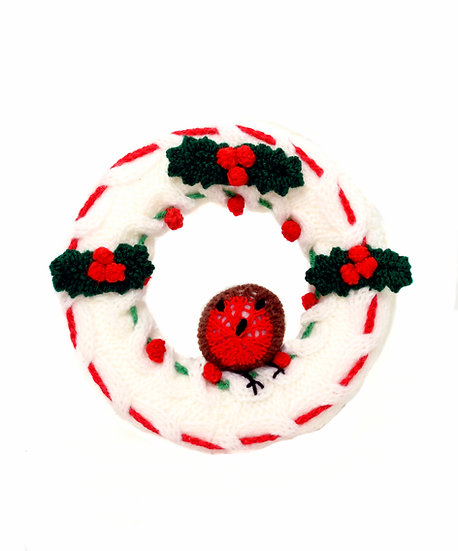 Christmas Wreath - Phil's Handknit Toys